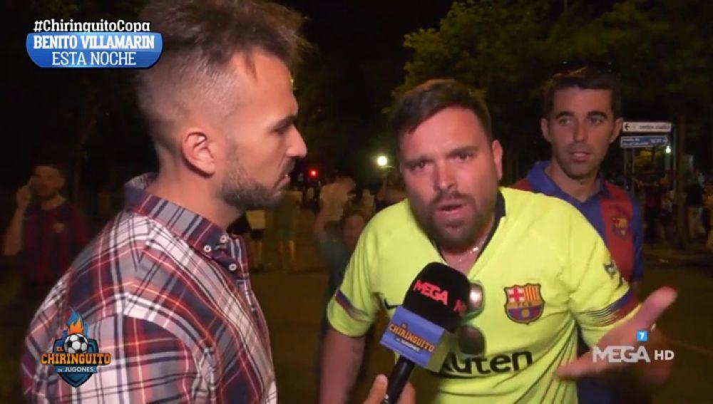 La afición del Barça carga contra Valverde y la del Valencia, desatada tras el título