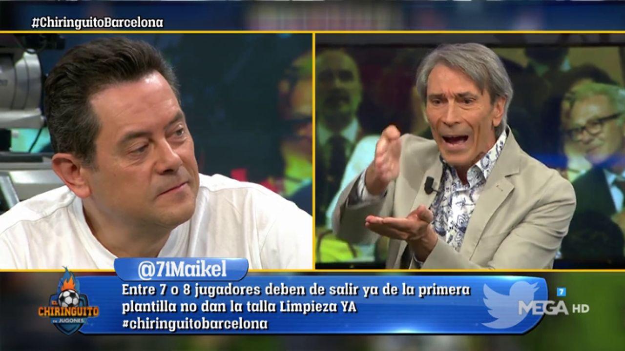 """Lobo Carrasco: """"En El Barça No Hay Otro Tipo Como Messi"""