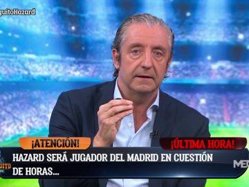 """Josep Pedrerol: """"Hazard será jugador del Real Madrid mañana por la mañana"""""""