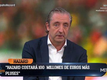 """Josep Pedrerol: """"Hazard podría costar 100 millones y unos 20 más en bonus extras"""""""