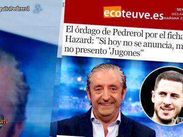Josep Pedrerol, en todos los medios de comunicación tras su 'todo o nada' en Jugones