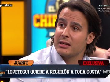 """Juanfe Sanz: """"Lopetegui quiere a Reguilón y el jugador está como loco por ir cedido al Sevilla"""""""