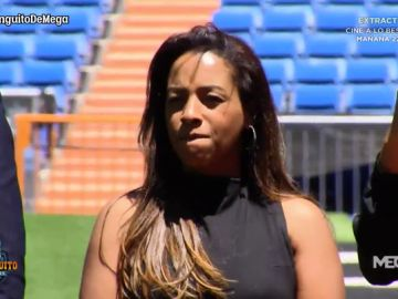 La familia de Rodrygo, emocionada en su presentación en el Bernabéu