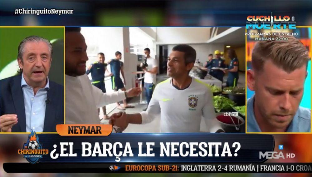 """Josep Pedrerol: """"Fichar a Neymar sería un negocio ruinoso"""""""