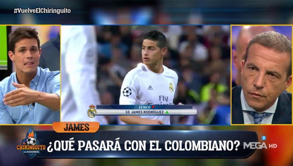 "Edu Aguirre: ""James está convencido de que va a ser su mejor temporada"""