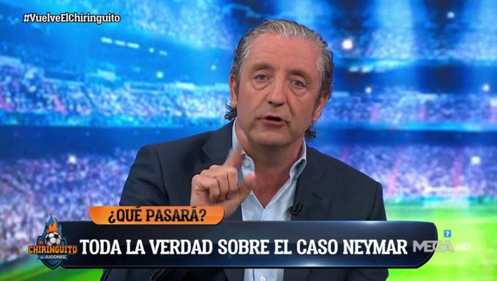 """Josep Pedrerol: """"El Barça, más cerca que nunca de fichar a Neymar y el Real Madrid, a la expectativa"""""""