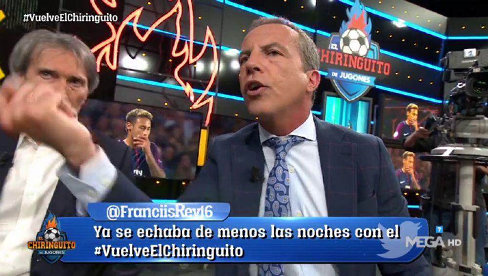 """Cristóbal Soria manda un mensaje al madridismo: """"Si el Madrid quiere a Neymar, que pase por caja"""""""