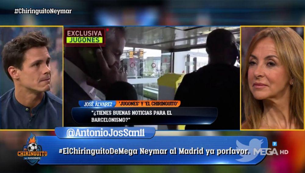 """Edu Aguirre, sobre Neymar: """"Si llega al Real Madrid, sería un ridículo histórica para el Barça"""""""