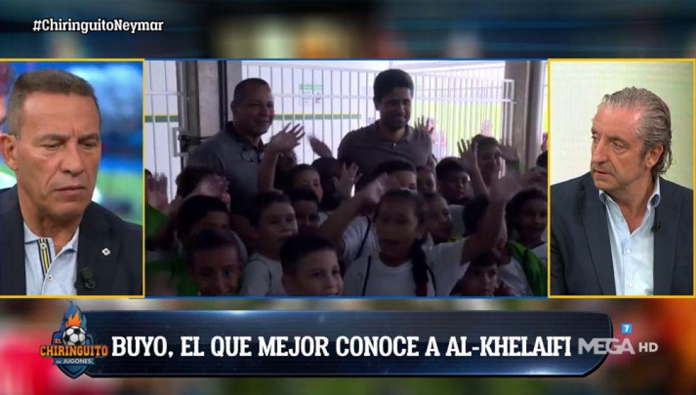 """Paco Buyo: """"Nasser está enfadado con la situación que tiene en el PSG"""""""