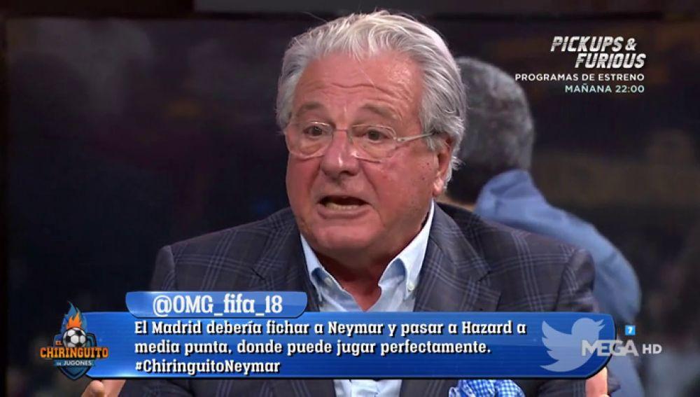 Jorge D´Alessandro 'explota' con el planteamiento de Ernesto Valverde