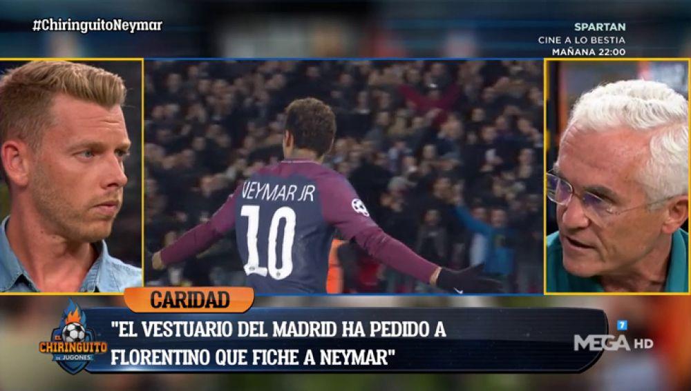"Paco Gª Caridad: ""Jugadores importantes del Real Madrid han pedido a Florentino que fiche a Neymar"""