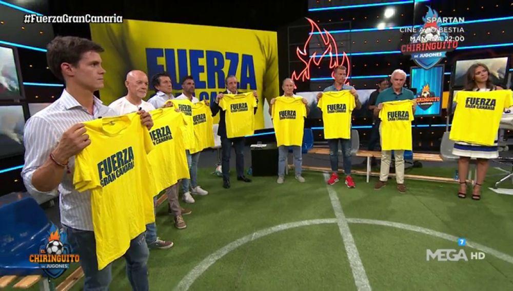 El Chiringuito muestra su apoyo a Gran Canaria