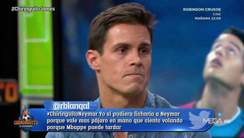 """Edu Aguirre: """"James tiene tantas ganas como cuando llegó al Madrid"""""""