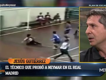"""Jesús Gutiérrez, entrenador de Neymar en el Real Madrid: """"El club no quería dejar escapar al jugador"""""""
