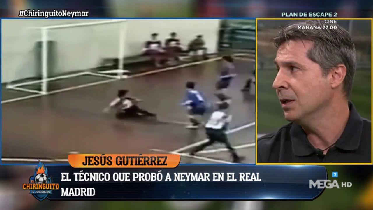 Jesús Gutiérrez, Entrenador De Neymar En El Real Madrid