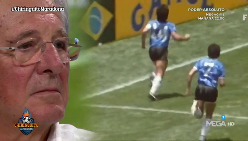 Jorge D´Alessandro se emociona con la última intervención mediática de Maradona