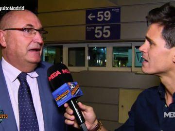 """Los compromisarios a Edu Aguirre: """"Florentino está muy bien, como siempre"""""""