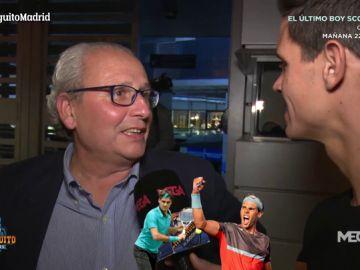 La 'locura' de Florentino: un Nadal-Federer en el Santiago Bernabéu