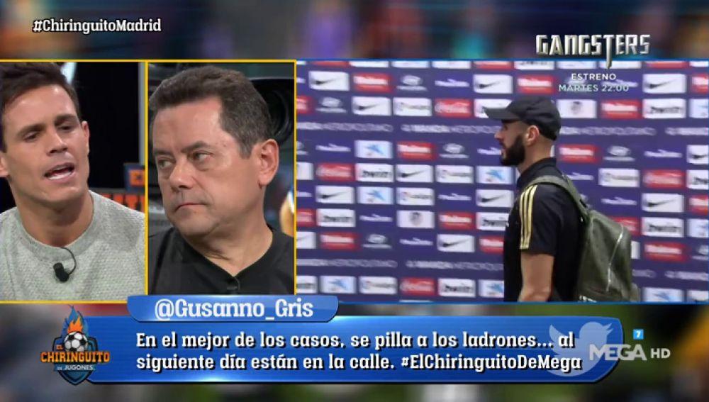 """Edu Aguirre: """"El Real Madrid está mejor pero quiero goles y que el Bernabéu se levante"""""""