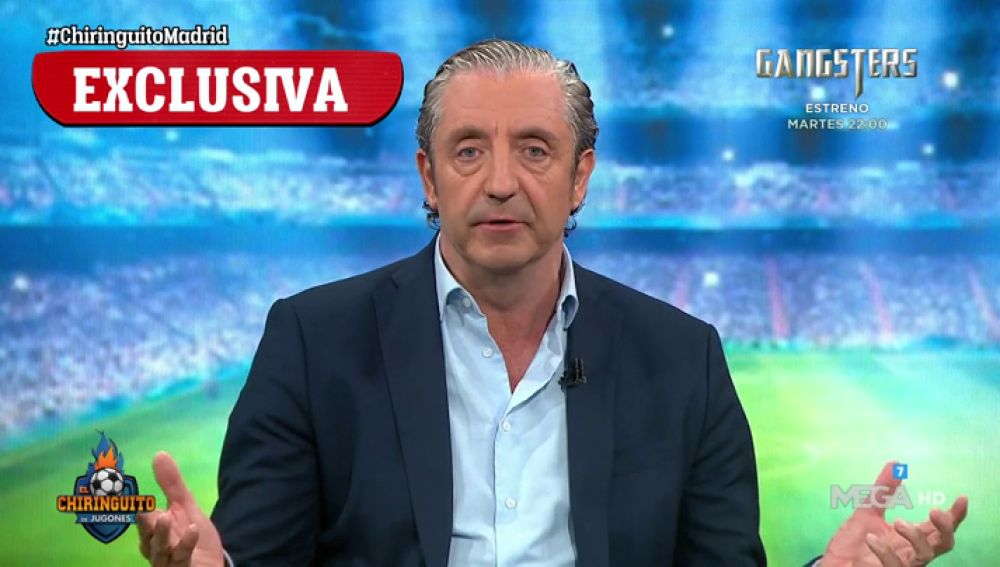"""Josep Pedrerol: """"El objetivo número 1 del Real Madrid es LaLiga"""""""