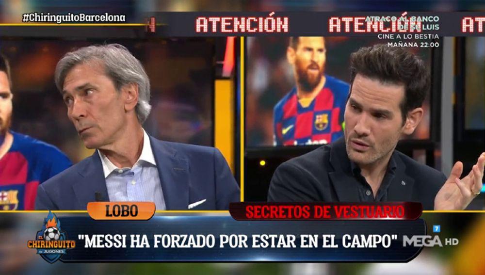 """Lobo Carrasco: """"El vestuario del Barça ha tenido roces con la directiva pero desde ahora van todos a una"""""""
