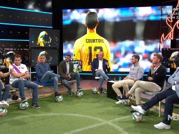 La situación de Courtois en el Real Madrid, a debate en El Chiringuito