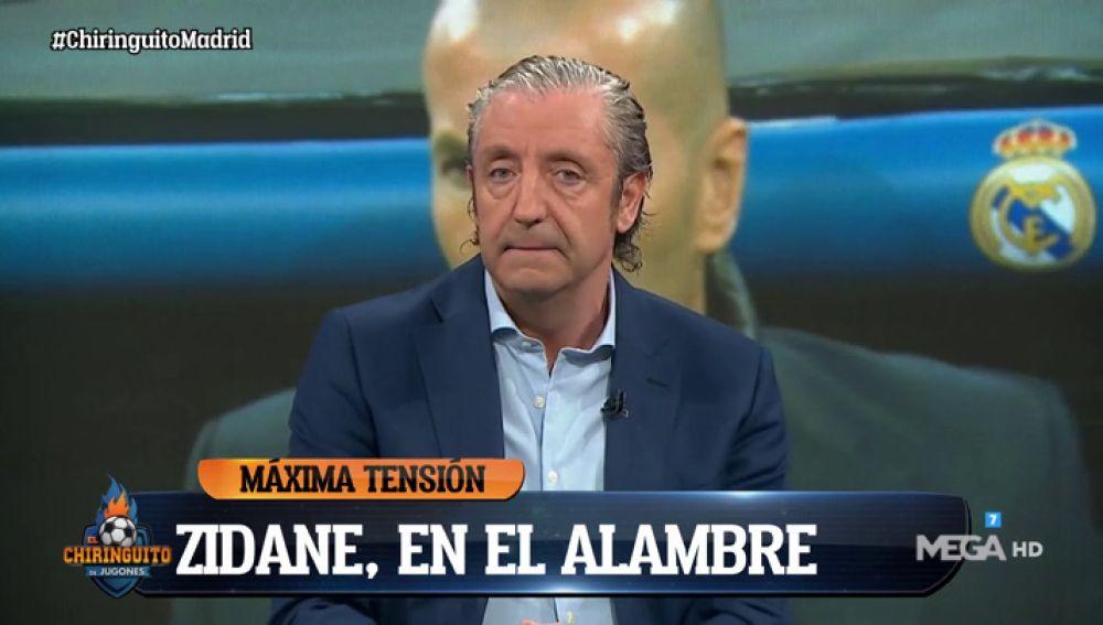 """Josep Pedrerol: """"Que Sergio Ramos diga también qué jugadores no están a la altura"""""""