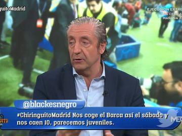 """Josep Pedrerol: """"Zidane les está haciendo peores a todos"""""""