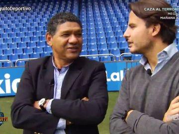 Manuel Pablo y Donato recuerdan los éxitos del Deportivo con Juanfe Sanz