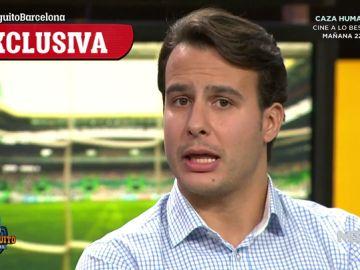 "Juanfe Sanz: ""El Barça está muy interesado en Aubameyang"""