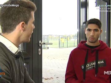 """Achraf Hakimi: """"El Real Madrid es mi casa, ¿Por qué no volver algún día?"""""""