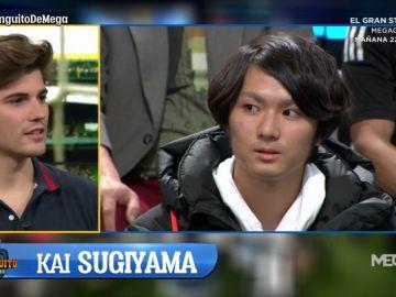 El Chiringuito hace realidad el sueño de Kai, un aficionado al fútbol japonés