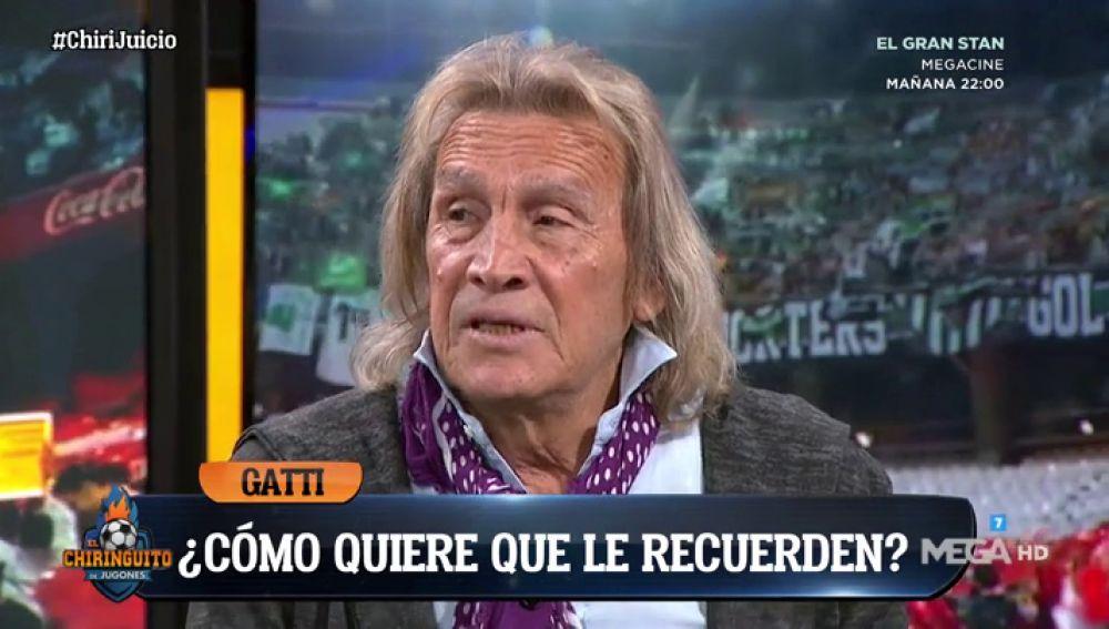 """Gatti: """"Me gustaría jugar un minuto en el Real Madrid y después morirme"""""""