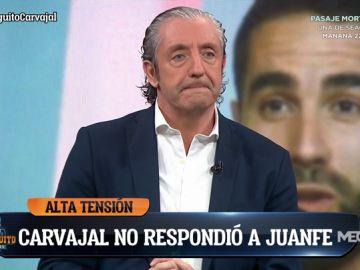 "Josep Pedrerol: ""No merece la pena contestar a Carvajal"""