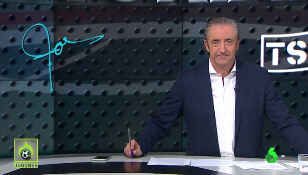 """Josep Pedrerol: """"Tsunami, con el fútbol no se juega"""""""