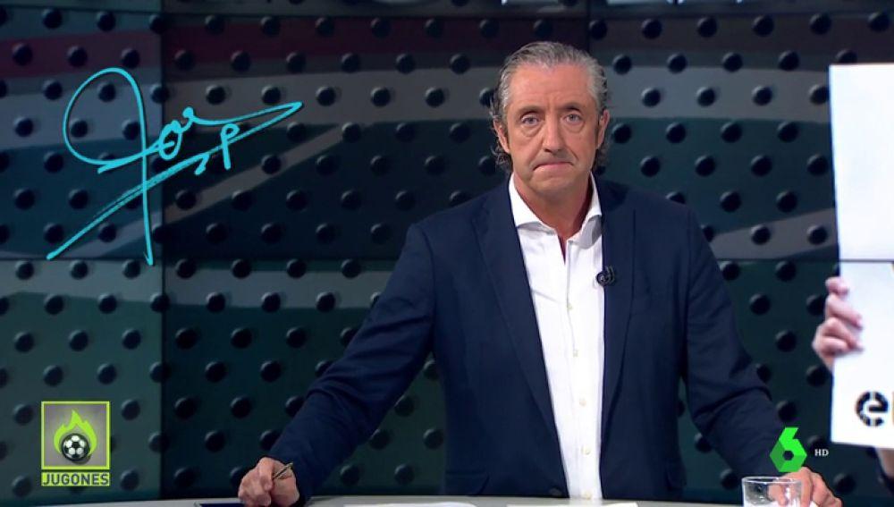 """Josep Pedrerol: """"Hay que acabar con la lacra de los insultos en el fútbol"""""""
