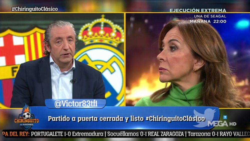 """Josep Pedrerol: """"Si salta alguien al campo o hay pelotitas, Bartomeu tiene que dimitir"""""""