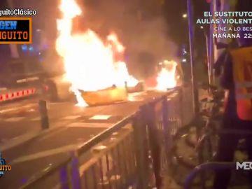 Disturbios en Barcelona: caos alrededor del Clásico del Camp Nou
