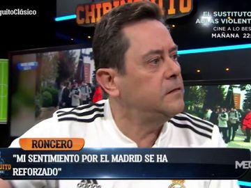 """Tomás Roncero: """"Estoy orgulloso de mi Real Madrid"""""""