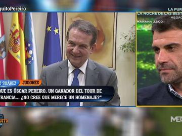 """Abel Caballero, alcalde de Vigo: """"Me comprometo a homenajear a Óscar Pereiro en Vigo"""""""