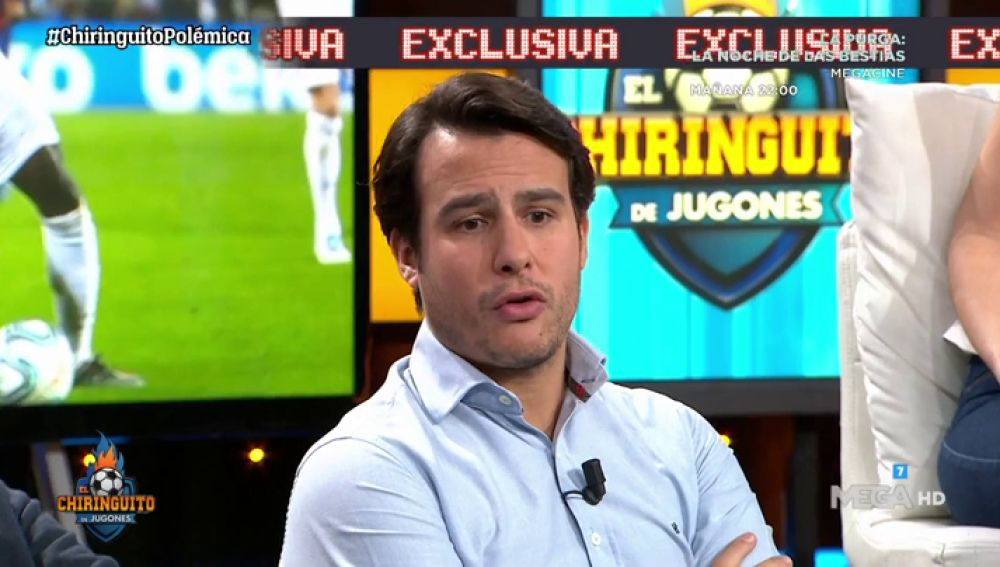 """Juanfe Sanz: """"Hernández Hernández, ÁRBITRO del CLÁSICO, NO ESTÁ TRANQUILO""""."""