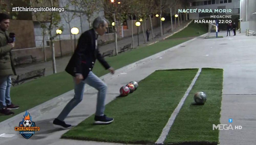 Lobo Carrasco y Paco Buyo se visten de Toni Kroos