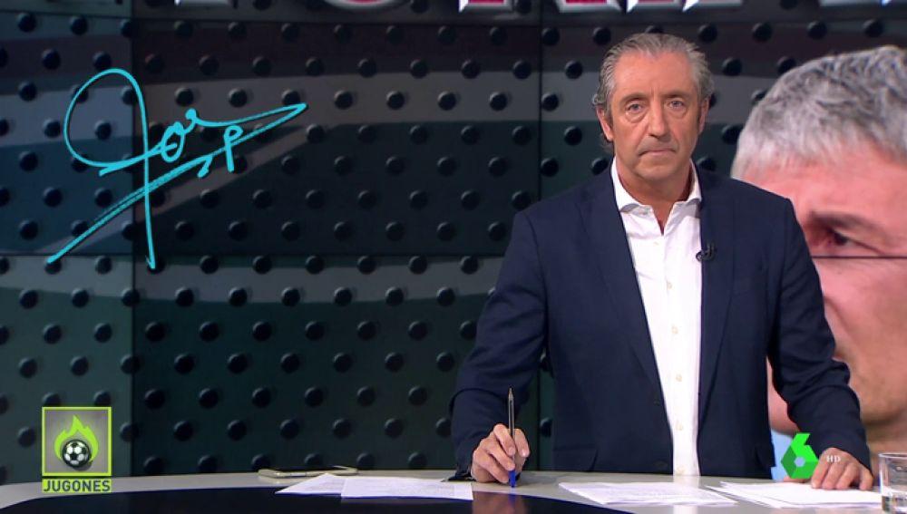 """Josep Pedrerol: """"Felicidades a Setién por la elegancia con Valverde. Que aprenda Bartomeu""""."""
