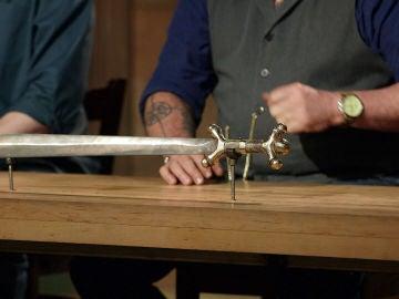 Una espada antropomorfa de la edad de hierro