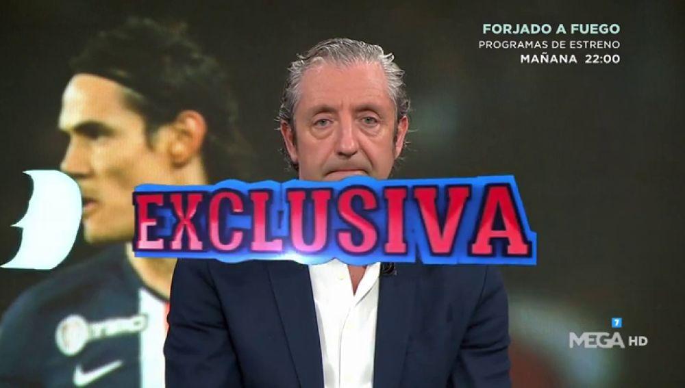 """Josep Pedrerol: """"El Atlético de Madrid ofreció 5 millones de euros por Cavani"""""""