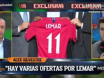 """Álex Silvestre: """"Hay ofertas por Lemar pero no lo suficientemente atractivas"""""""