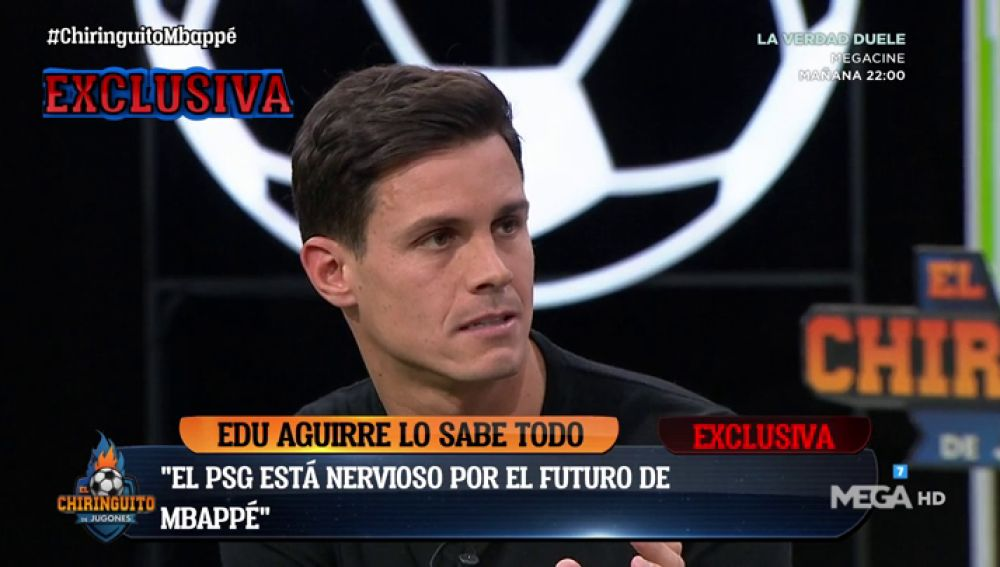 "Edu Aguirre: ""El PSG cuida más a Mbappé que a Neymar"""