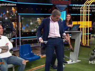Cristóbal Soria da la cara tras la derrota del Sevilla en el Bernabéu