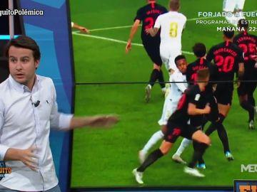 Analizamos la polémica falta de Gudelj ante el Real Madrid