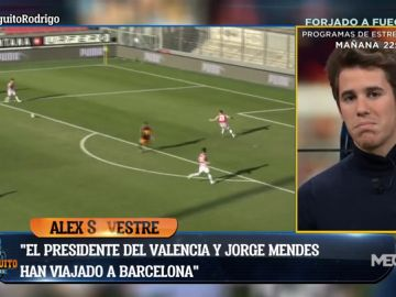 """Álex Silvestre: """"El Barça se acerca a los 50 millones por Rodrigo y el Valencia pide 60"""""""